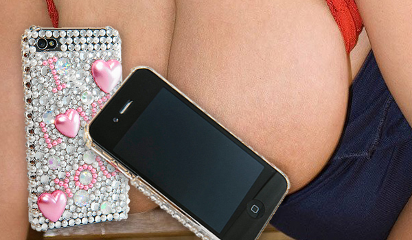 I Love You Bling Iphone Cover